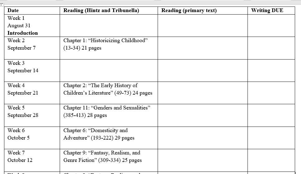 syllabus topics 1